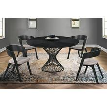 Cirque Jackie 5 Piece Black Dining Set