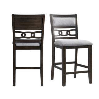 See Details - Amherst Counter Height Side Chair Set in Walnut