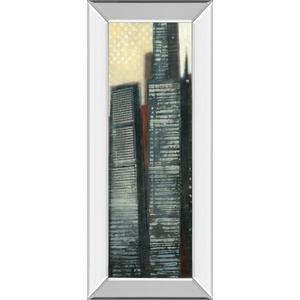 """Urban Landscape IV"" By Norman Wyatt Mirror Framed Print Wall Art"