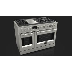 "Fulgor Milano48"" All Gas Pro Range - Stainless Steel"