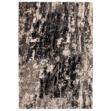 "Liora Manne Fresco Abstract Indoor/Outdoor Rug Navy 4'10"" x 7'6"""