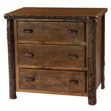 Three Drawer Chest - Cognac - Premium