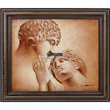 Passion Framed Hand Painted Art, Oil on Canvas