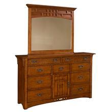 Artisan Ridge Landscape Dresser Mirror