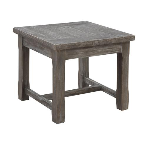 Emerald Home Paladin End Table Rustic Charcoal T3501-03
