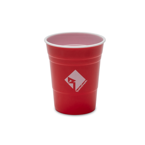 Set of 6 Red Cups & 2 Ping Pong Balls with RF Logo