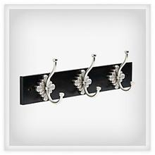 View Product - Floral Design 18 in. Hook Rack