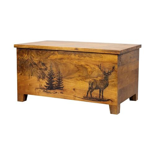 Porter International Designs - COMING SOON, PRE-ORDER NOW! Alpine Deer Trunk, 55548