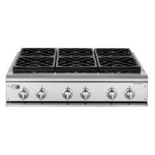"GE Monogram® 36"" Professional Gas Cooktop with 6 Burners (Liquid Propane)"