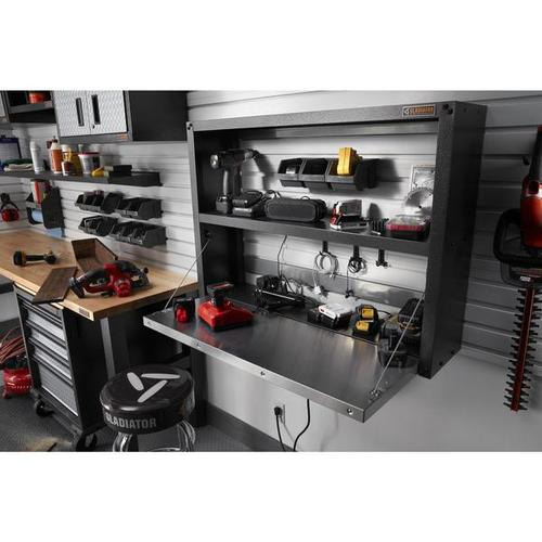 Ready-to-Assemble Foldaway Work Station