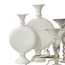 Pill Vase-Ivory Crackle-Sm