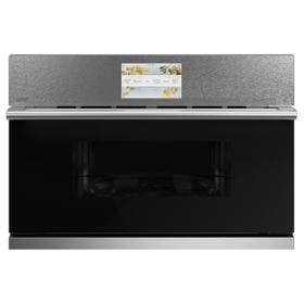 "Café 30"" Smart Five in One Wall Oven with 240V Advantium® Technology in Platinum Glass"