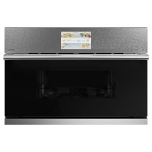 "Cafe30"" Smart Five in One Wall Oven with 240V Advantium® Technology in Platinum Glass"