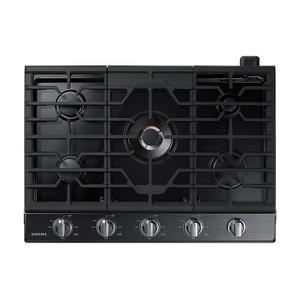 "Samsung30"" Gas Cooktop with 22K BTU Dual Power Burner (2016)"