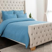 See Details - Danica Bluebell 4Pc King Quilt Set LE