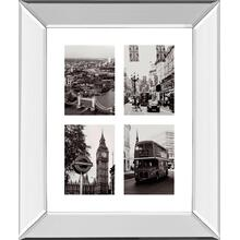 """London Composite"" By Joseph Eta Mirror Framed Print Wall Art"