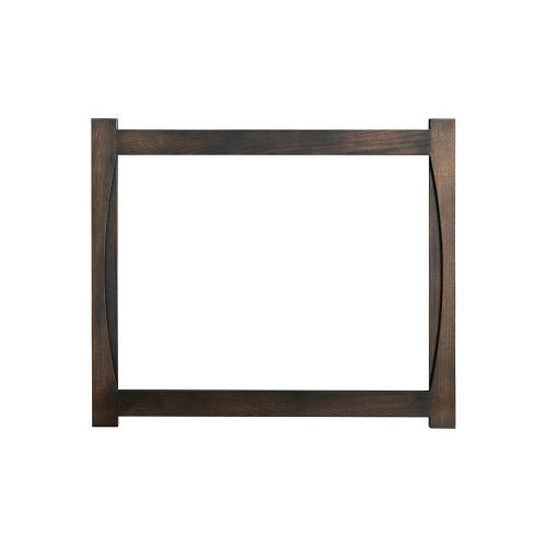 Green Gables Furniture - Mystery Bay Dresser Mirror - Grey Flannel