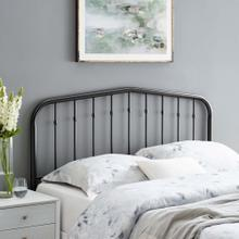 Lennon Twin Metal Headboard in Black