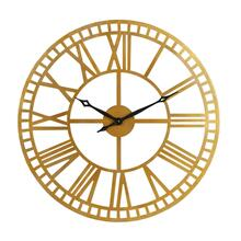 METAL WALL CLOCK, BRASS