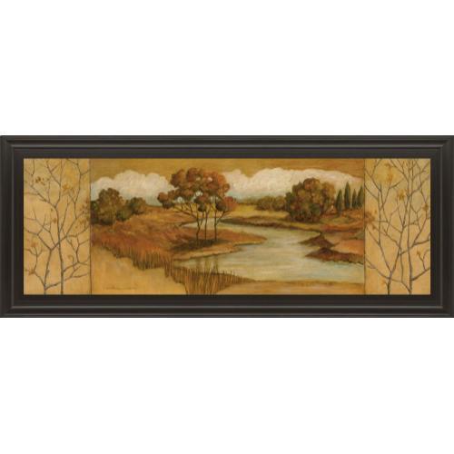 """Classy Art - """"River Scene Il"""" Framed Print Wall Art"""
