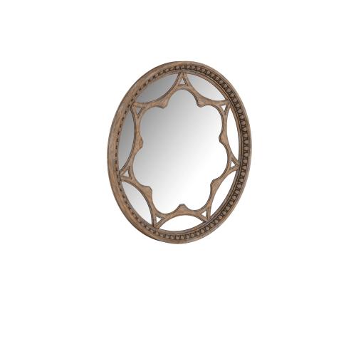 See Details - Architrave Round Mirror