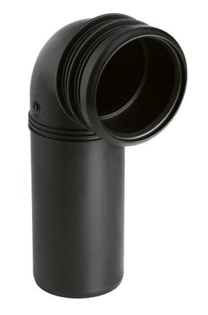 PP-outlet elbow (DN 90) Product Image