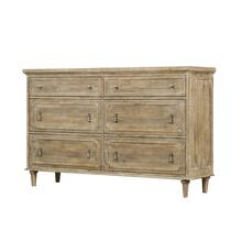 Emerald Home Interlude 6 Drawer Dresser Sandstone