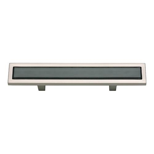 Spa Black Pull 3 Inch (c-c) - Brushed Nickel