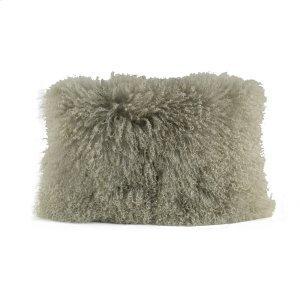 Lamb Fur Rectangle Pillow 20x14