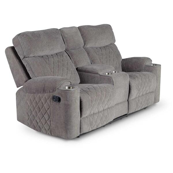 Crawford Console Manual Motion Loveseat