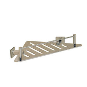 Essentials Triangular Shower Shelf, Braga Backplate