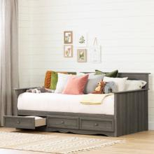 Daybed with 3 Storage Drawers - 39''