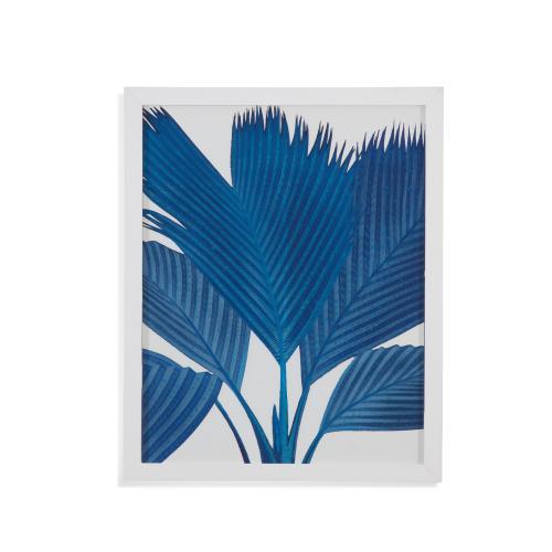 Bassett Mirror Company - Palm in Blue II
