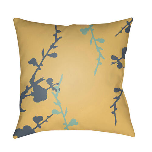 "Chinoiserie Floral CF-014 22"" x 22"""