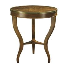 East Paces Side Table with Wood Top
