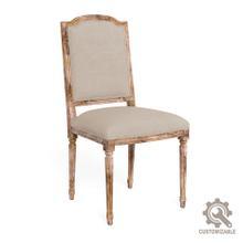 Louis Xvi Squared Side Chair Frame