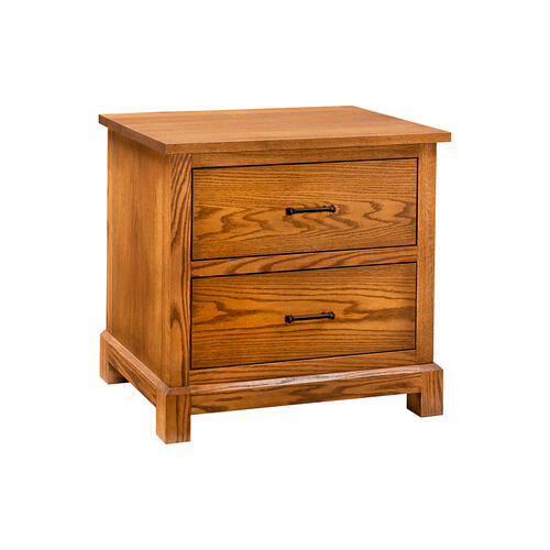 Green Gables Furniture - Falls Creek 2 Drawer Nightstand - Provincial