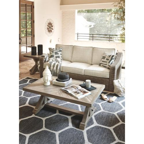 Beachcroft Sofa with Cushion Beige