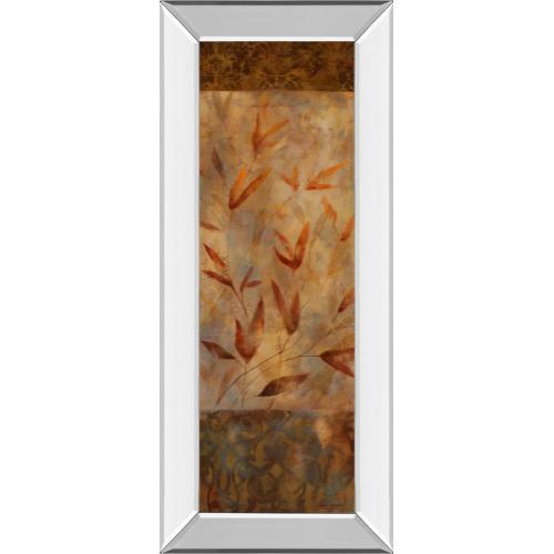 "Classy Art - ""Autumn's Allure I"" By Carol Robinson Print Mirror Framed Wall art"