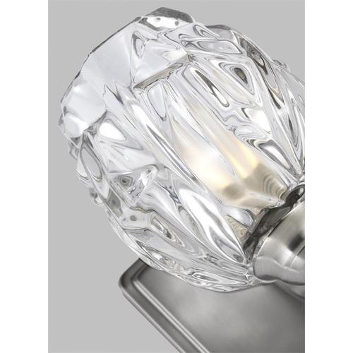 Kalli 1 - Light Sconce Satin Nickel Bulbs Inc