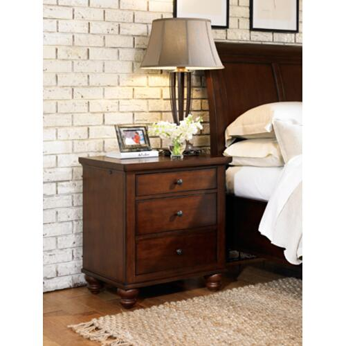 Aspen Furniture - Cambridge Liv360 Nightstand