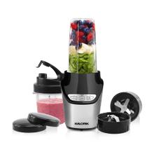 Product Image - Kalorik 8-Piece Nutrition Blender Set, Black and Silver