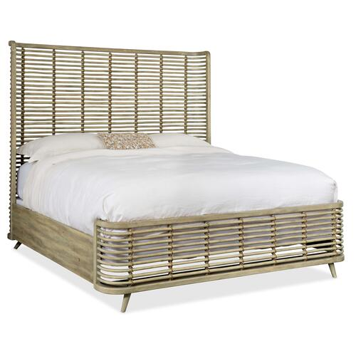 Surfrider California King Rattan Bed
