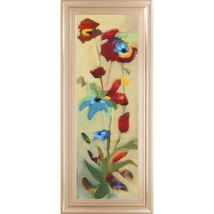 "Classy Art - ""Wildflower Il"" By Jennifer Zybala Framed Print Wall Art"
