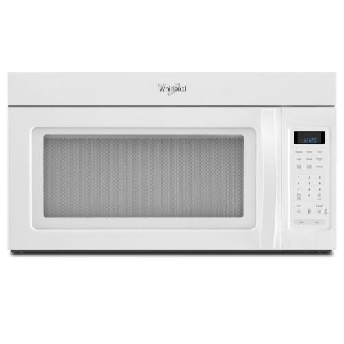 Whirlpool - 1.7 cu. ft. Over the Range Microwave with Hidden Vent