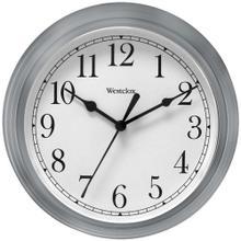 "9"" Decorative Wall Clock (Gray)"