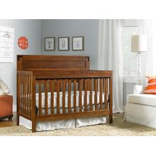 Fisher-Price Paxton Convertible Crib, Rustic Brown