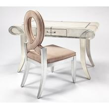 """See Details - Desk with Glass, 1 Drawer 56x27x31.5"""""""