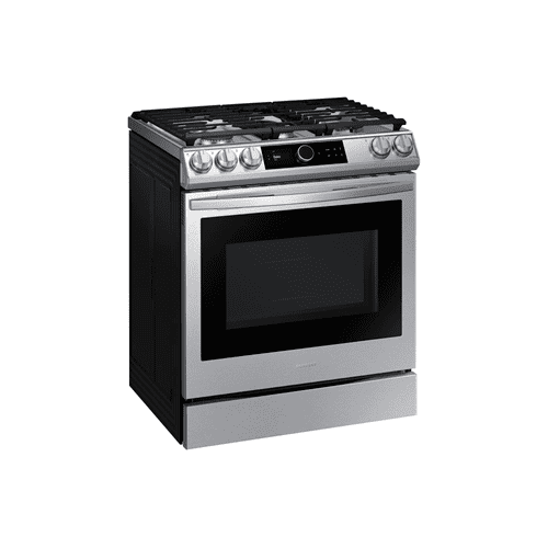 6.0 cu.ft. Gas Range with 22K double burner and Air Fry in Stainless Steel.