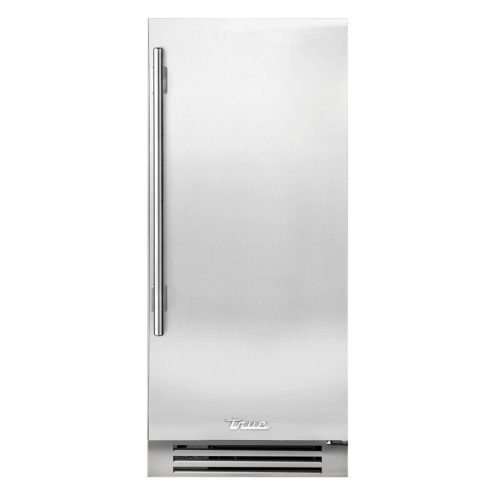 True Residential - 15 Inch Solid Stainless Door Right Hinge Clear Ice Machine